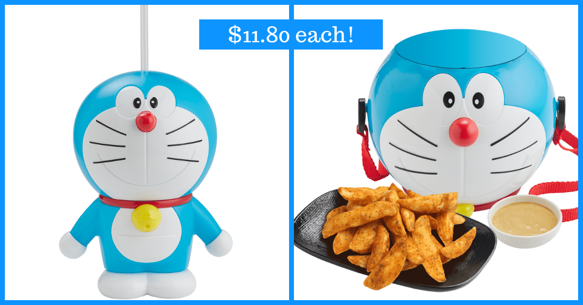 Get Your Doraemon Merchandise at Monster Curry | Available till 30 Sep 2019