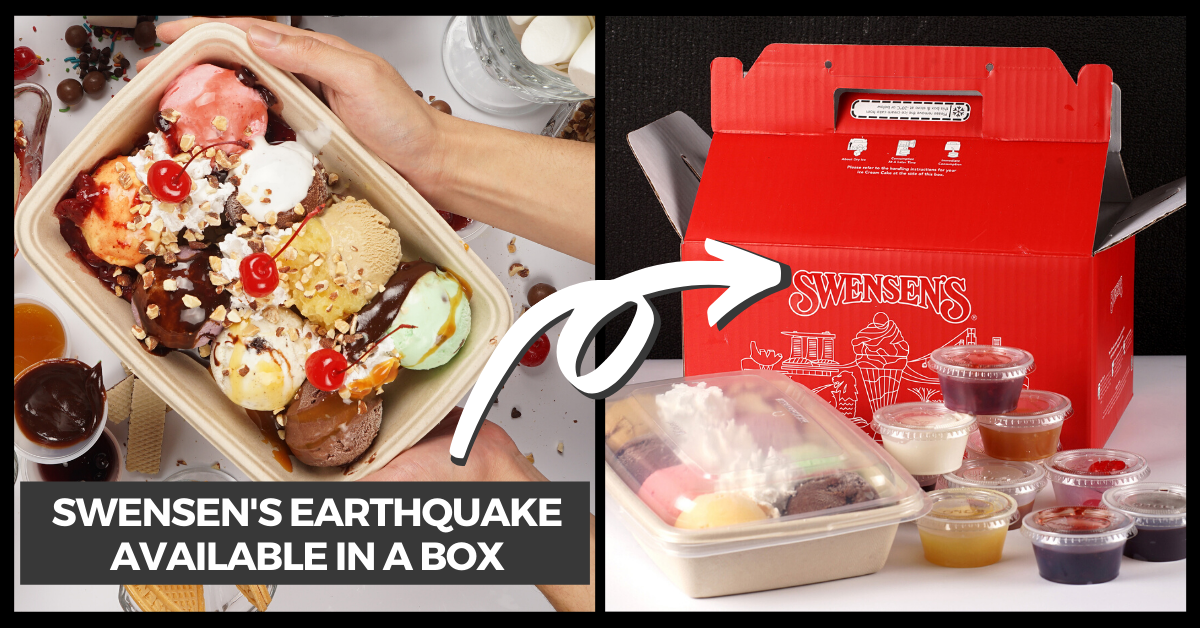 Get the Popular Swensen's Earthquake In A Box and More Delivered To Your Doorsteps!