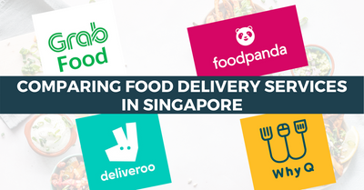 Comparing Food Delivery Services In Singapore | GrabFood, Food Panda, WhyQ and Deliveroo