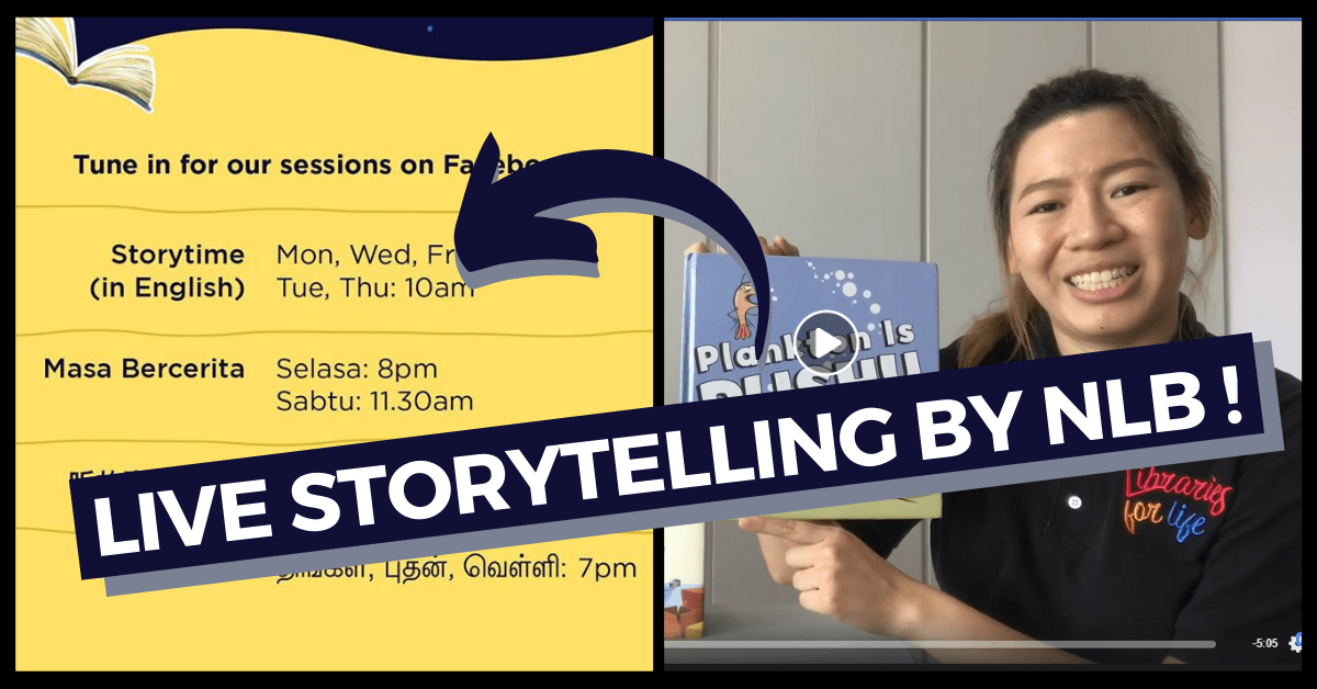 National Library Board's digital offerings during Covid-19 circuit breaker period | Live Storytelling, e-Books and more