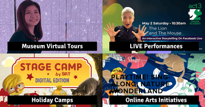 Free Online Storytelling, Performances, Holiday Camps And More For The Mid-Year Holidays!
