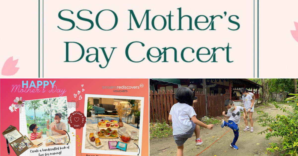 Events & Activities to Celebrate Mother's Day 2021 in Singapore