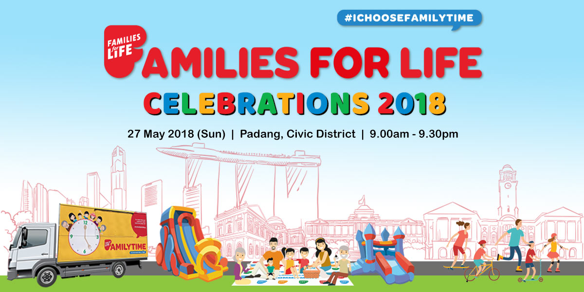 Things to do this Weekend: Bond with Your Family @ Families for Life Celebrations!