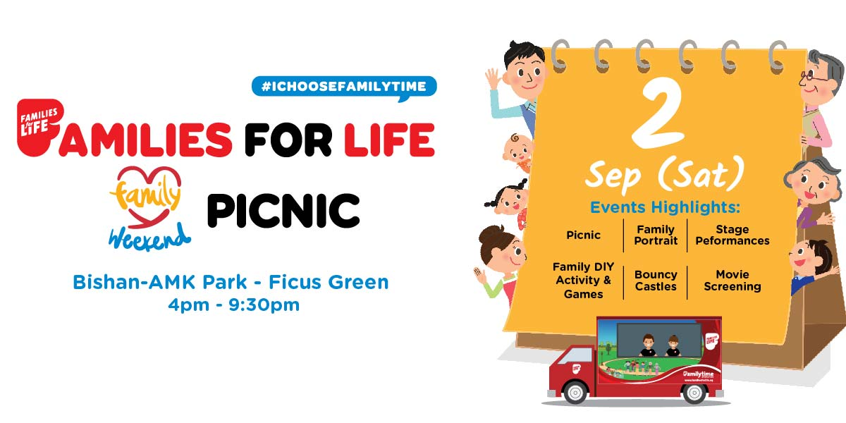 Things to do this Weekend: Familes for Life - Family Weekend Picnic!