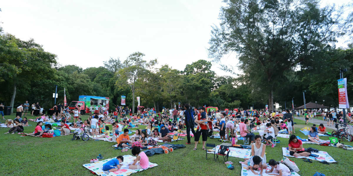 Places to go this Weekend - Families for Life: School Holiday Edition Picnic @ Jurong Central Park