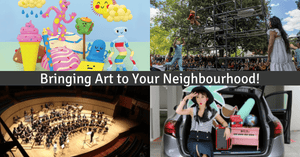 Arts in Your Neighbourhood (AYN) | Family and Kids Friendly Programmes