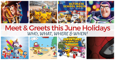 Don't Miss These Exciting Meet & Greets! | Pikachu, Super Wings, Paw Patrol, Toy Story and more!