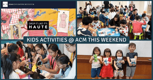 Kids Activities @ ACM this Weekend | Drop It Like It's Haute | Season of Chinese Art