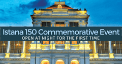 Istana 150 Commemorative Open House | See the Istana at Night!
