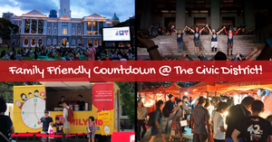 Family Friendly New Year Countdown @ the Civic District