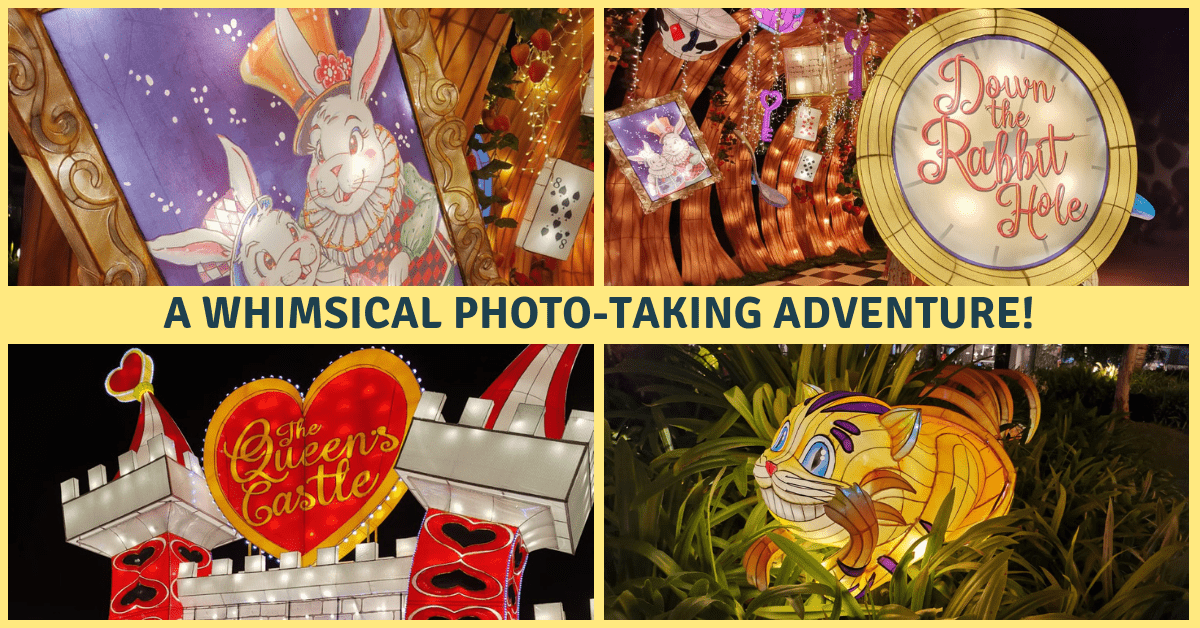 Join in VivoCity's Curious Adventures in Wonderland | Mid-Autumn Lanterns Decorations