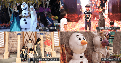 A Frozen Wonderland at Changi | Meet Elsa, Dance in the Snow, Conquer the Elements, & More!