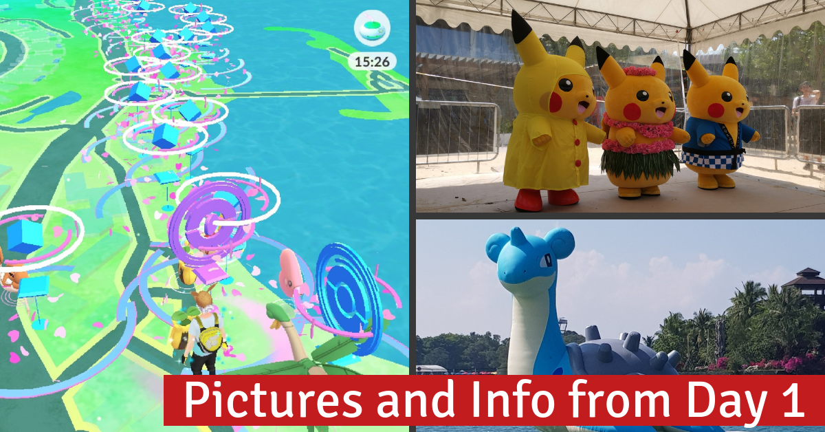 Things to do at Southeast Asia's 1st Pokémon GO Safari Zone | Sentosa