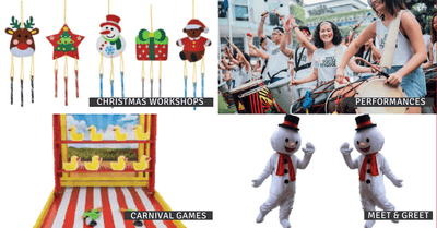Christmas Carnival @ The Grandstand | 14 & 21 Dec 2019