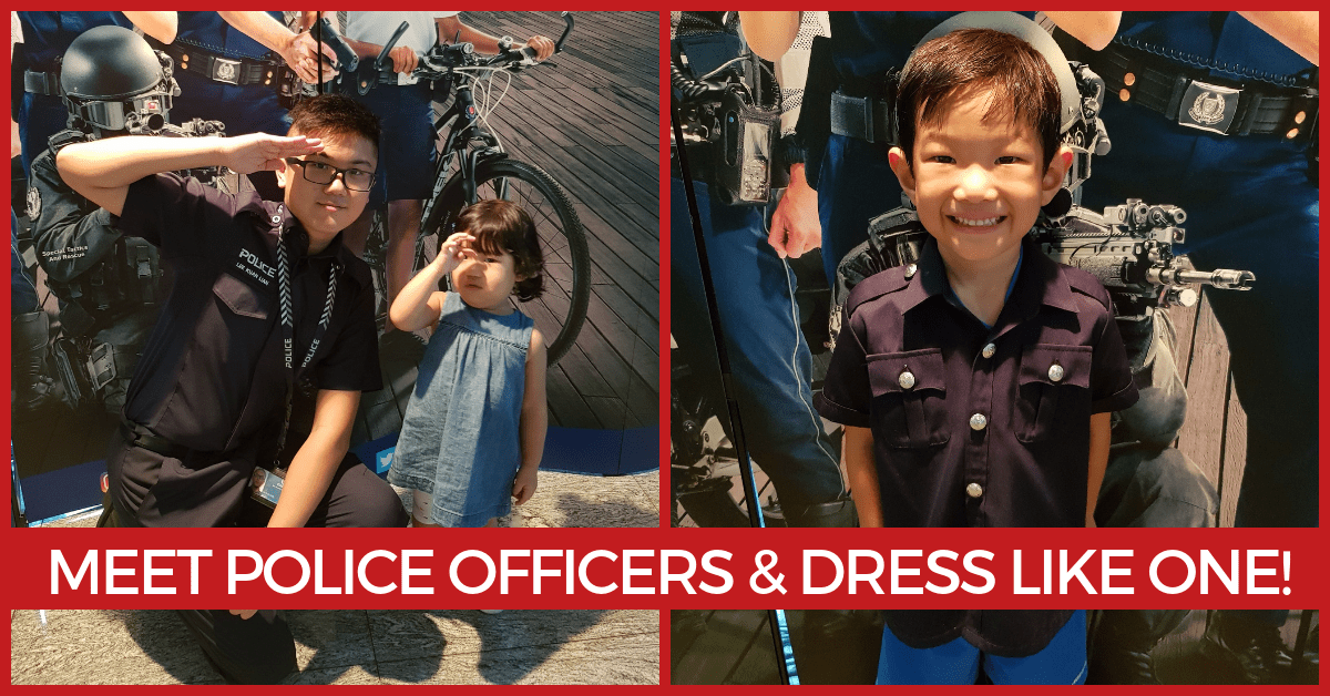 A Police Heritage Tour Organised for Kids | Children's Season 2019