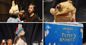 Where is Peter Rabbit? | A Puppet Theatre for the Kids!