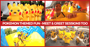 Pokémon Carnival Comes to Sentosa this June | Free Admission and Not to be Missed!