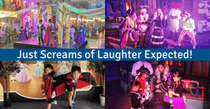 Kidzania's SpookyTown 2: The Masquerade Hunt | Halloween Event for Families!