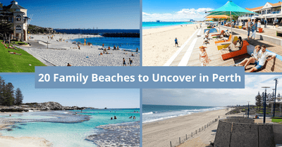20 Family-Friendly Beaches in Perth | Beautiful Beaches, Playgrounds & More!