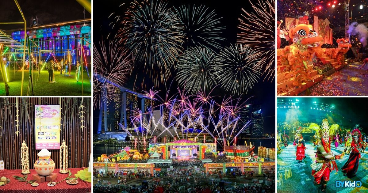 Festivals in Jan 2020: 5 Festivities to Revel in with Your Kids in Singapore