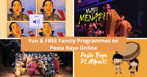 Pesta Raya - Malay Festival of Arts goes Online | Esplanade Offstage