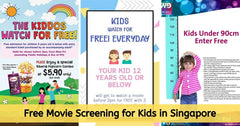 2020 Updated | Free Movie Screening for Kids (Golden Village, Shaw and WE Cinemas)