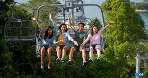 Free Rides for Healthcare Workers & New Annual Pass Among Offerings as Skyline Luge Sentosa Reopens!