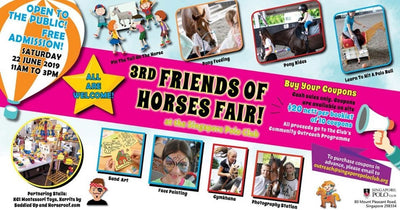 Friends of Horses Fair 2019 - Lively Fun Fair Filled with Interesting Games & Activities!
