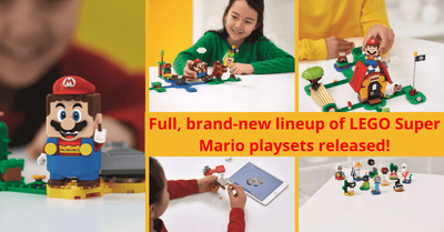 The LEGO Group and Nintendo reveals full product range for all-new Super Mario play experience