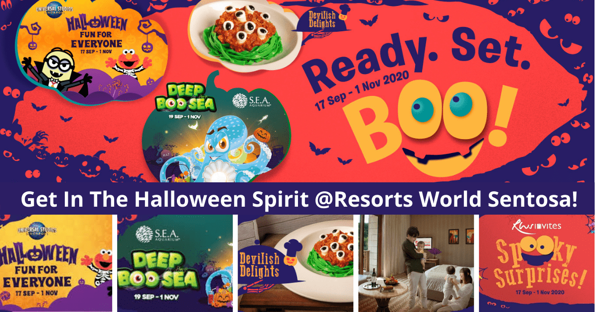 READY SET BOO | Have A Scary Fun Halloween at Resorts World Sentosa!