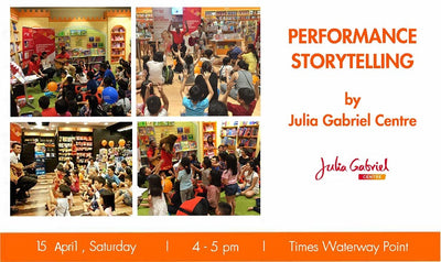 Things to do this Weekend: Performance Storytelling @ Waterway Point