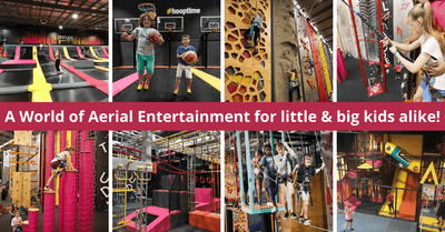 Latitude | Bounce, Climb and Fly at Perth's Family-Friendly Indoor Aerial Super Park!