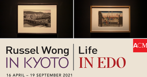 'Life in Edo | Russel Wong in Kyoto' Exhibition at Asian Civilisations Museum