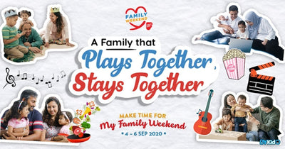 My Family Weekend 2020 | Trivia Quizzes, Performances & Grand Prizes To Be Won!
