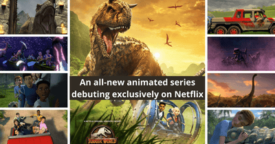 Jurassic World: Camp Cretaceous | An All-New And Exclusive Series by Netflix