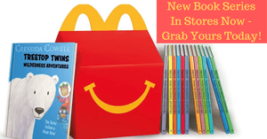 NEW! McDonald's launches an all-new book collection for Happy Meals!
