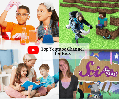 Top 10 YouTube Channel for Kids