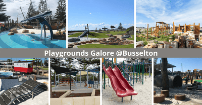 7 Playgrounds For Families To Visit In Busselton, Perth