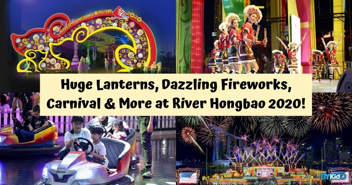 River Hongbao 2020 – Huge Lanterns, Fireworks, Performances, Carnival & More!