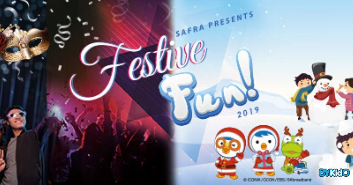 SAFRA Festive Fun | Meet Pororo, Frolick in Bubble Foam & Get Crafty!
