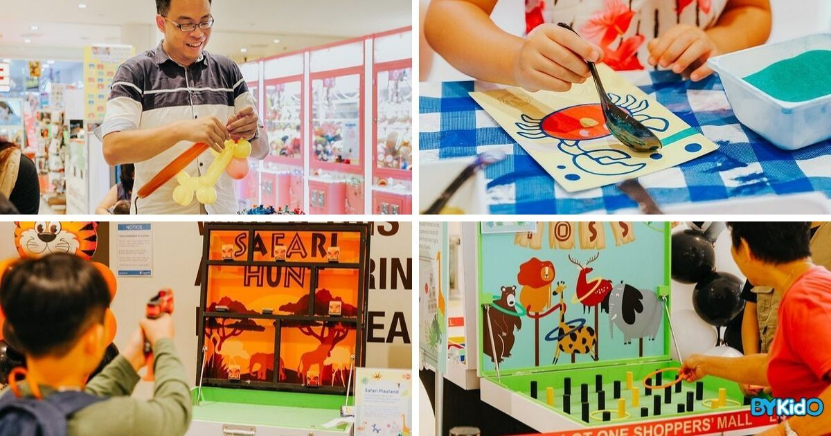 Safari Playland | Safari-themed Carnival at Lot One
