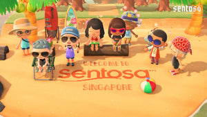 Singapore's Sentosa Island Creates Branded Island on Animal Crossing