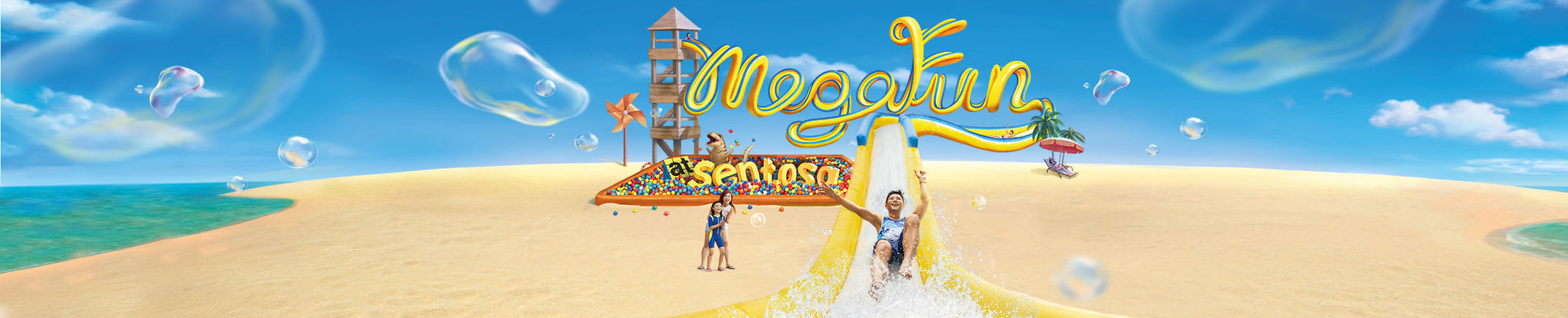 Places to go this Weekend: Mega Fun @ Sentosa!