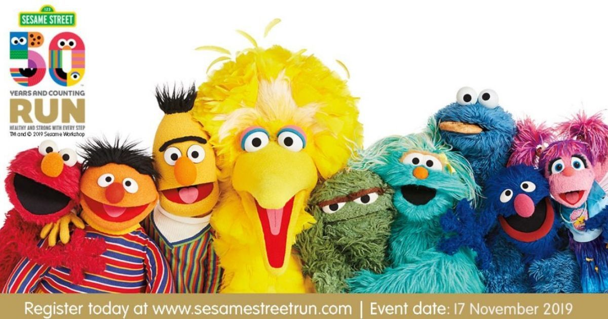 Sesame Street Run Singapore 2019: Details on Race Categories & Entitlements