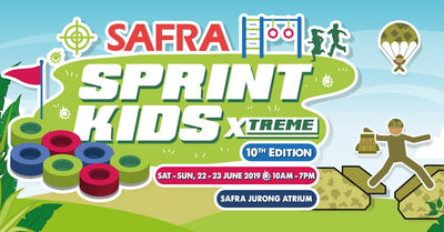 Sprint Kids Xtreme | NS-Inspired Obstacles for the Kids @ SAFRA Jurong