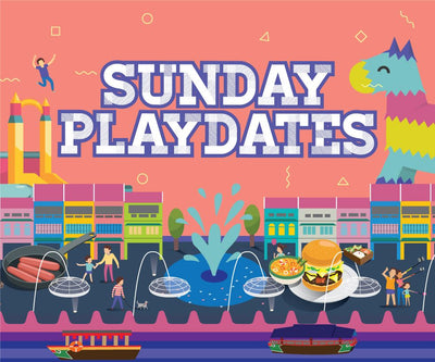 Things to do this Weekend: Go on a Playdate with Your Little Ones @ Clarke Quay!