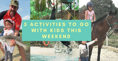 5 Things to do and Places to go with Kids this weekend in Kuala Lumpur!