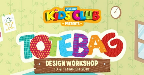 Things to do this Weekend: Design a Totebag with Your LOs @ VivoCity!