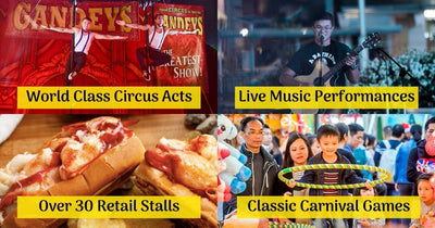 Uncle Ringo Presents The Great Circus of Europe | World Class Acts, Carnival Games & Food Street