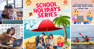 People's Association School Holiday Series Returns With Local-Themed Family Programmes!
